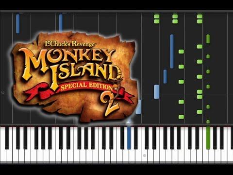 Monkey Island 2 LeChuck's Revenge - Jojo the Monkey Piano Cover