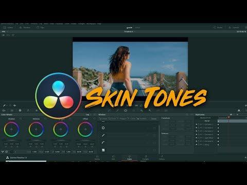 Get Perfect Skin Tones in Davinci Resolve