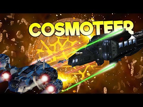 THE ULTIMATE STARSHIP BUILDING, MANAGING, AND COMMANDING SIMULATOR! - Cosmoteer Gameplay