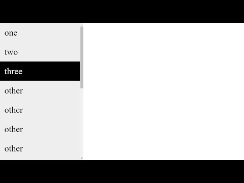 CSS - (Part 1) Vertical Navigation Bar / List