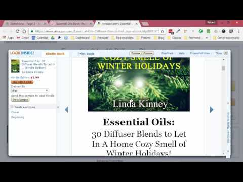 Personal to Matt West: Essential oils book outline (Kindle)