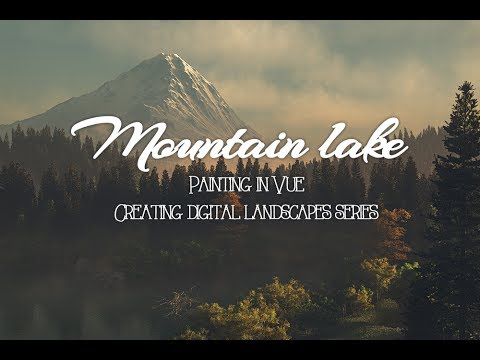 Vue tutorial, project lake creating mountain part 1