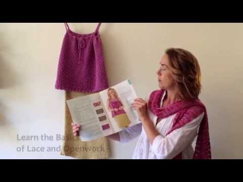 Learn the Basics of Knitted Lace & Openwork