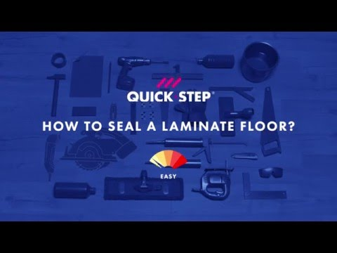 How to finish your waterproof laminate floor | Tutorial by Quick-Step