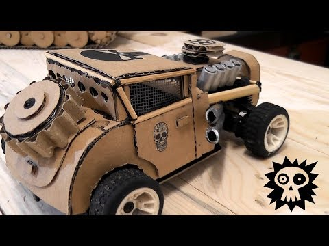 WOW! Super RC Mad Max Car||How to make Electric Toy Car||Cardboard Mad Max Car