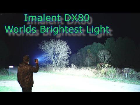 Worlds Brightest Flashlight Imalent DX80