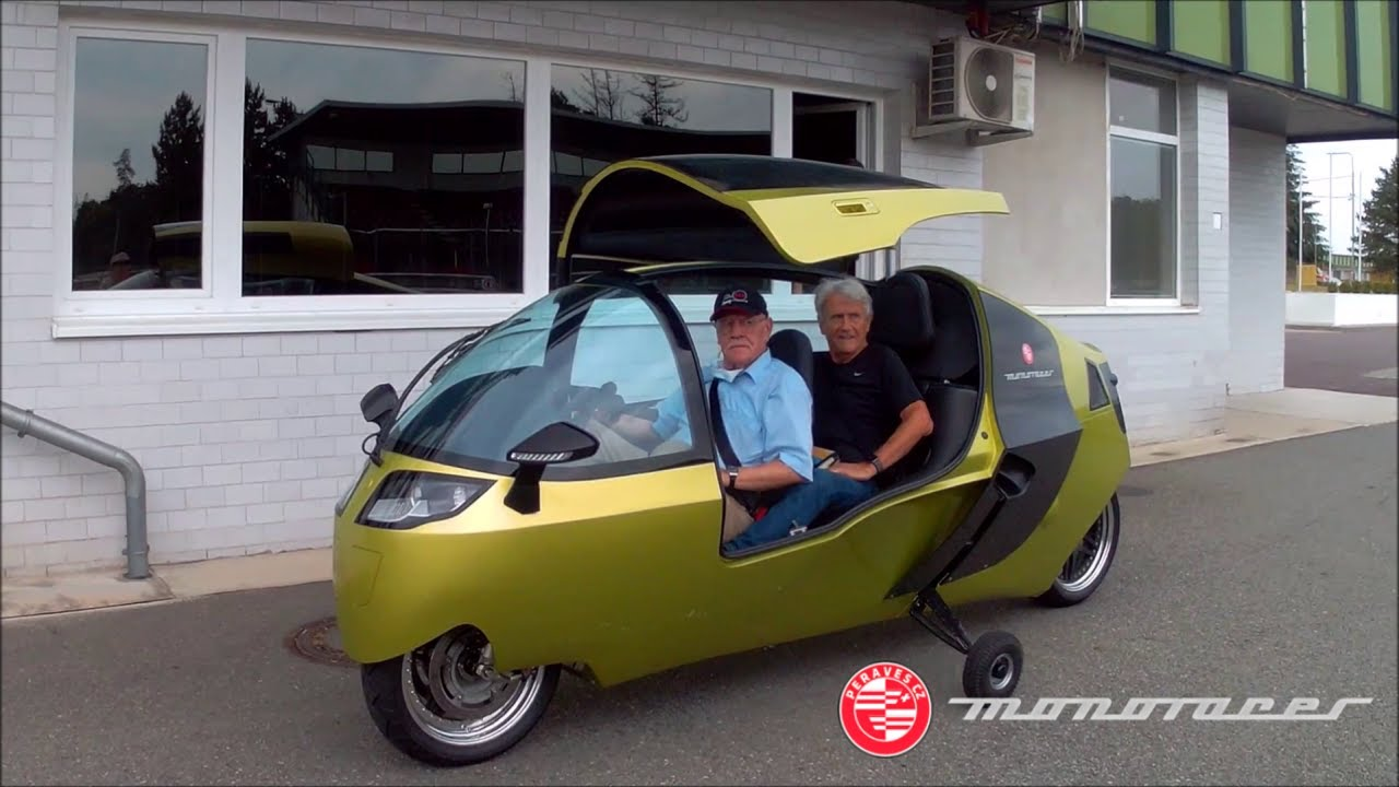 New Monoracer (electric version) first customer drive [2020]