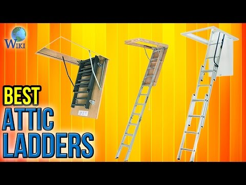 6 Best Attic Ladders 2017