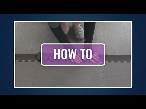 How to Install Beveled Edges for Foam Tiles