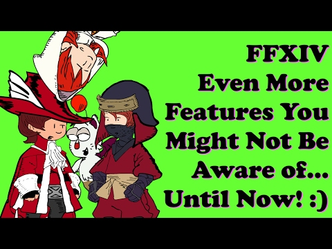 FFXIV Even More Simple Features You Might Not Know About