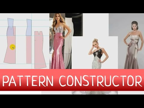 How to Craft a Dress Pattern? Sewing dress pattern constructor