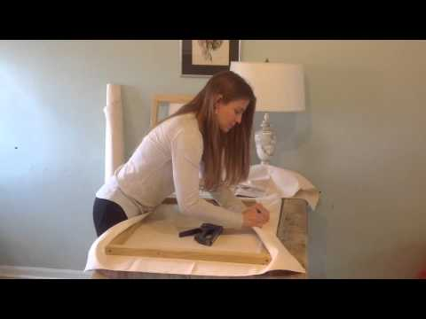 Making Artist Canvas: How to Build a Wood Frame, Stretch & Prime Canvas for Painting