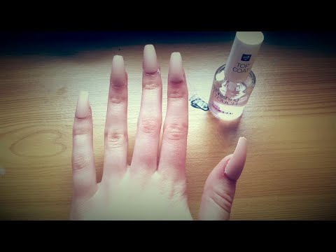 How to apply fake nails without nail glue| Rekas style