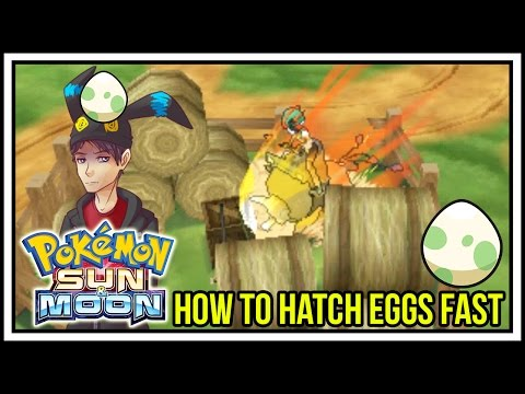 Easy Method to Hatching Pokemon Eggs FAST in Pokemon Sun and Moon! [Pokemon Breeding]