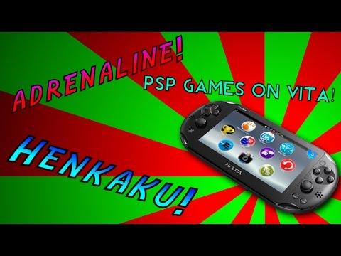 How to Play PSP Games (Adrenaline 6.61) on PS Vita (Henkaku/taiHenkaku)