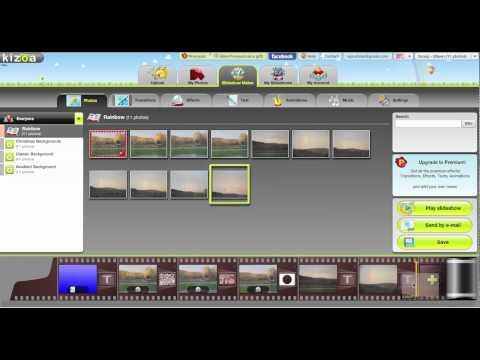 Kizoa: Create Fun Video Slideshows