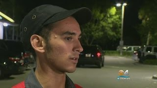 Quick-Thinking McDonald's Employee Helps Save Miami-Dade Police Officer
