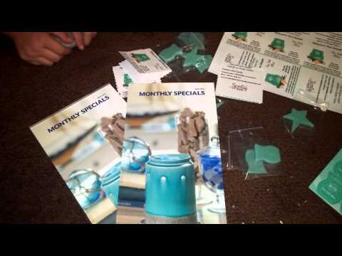 Scentsy samples for scent of the month