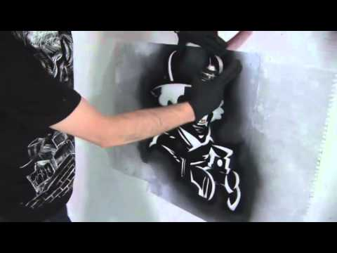 How To Create A Graffiti Stencil