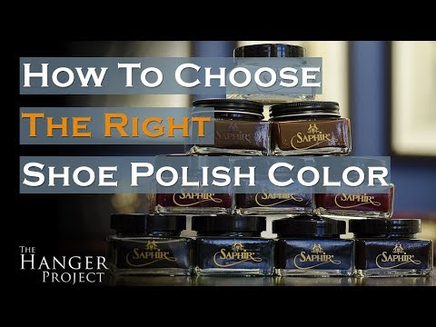 Choosing the Right Shoe Polish Color