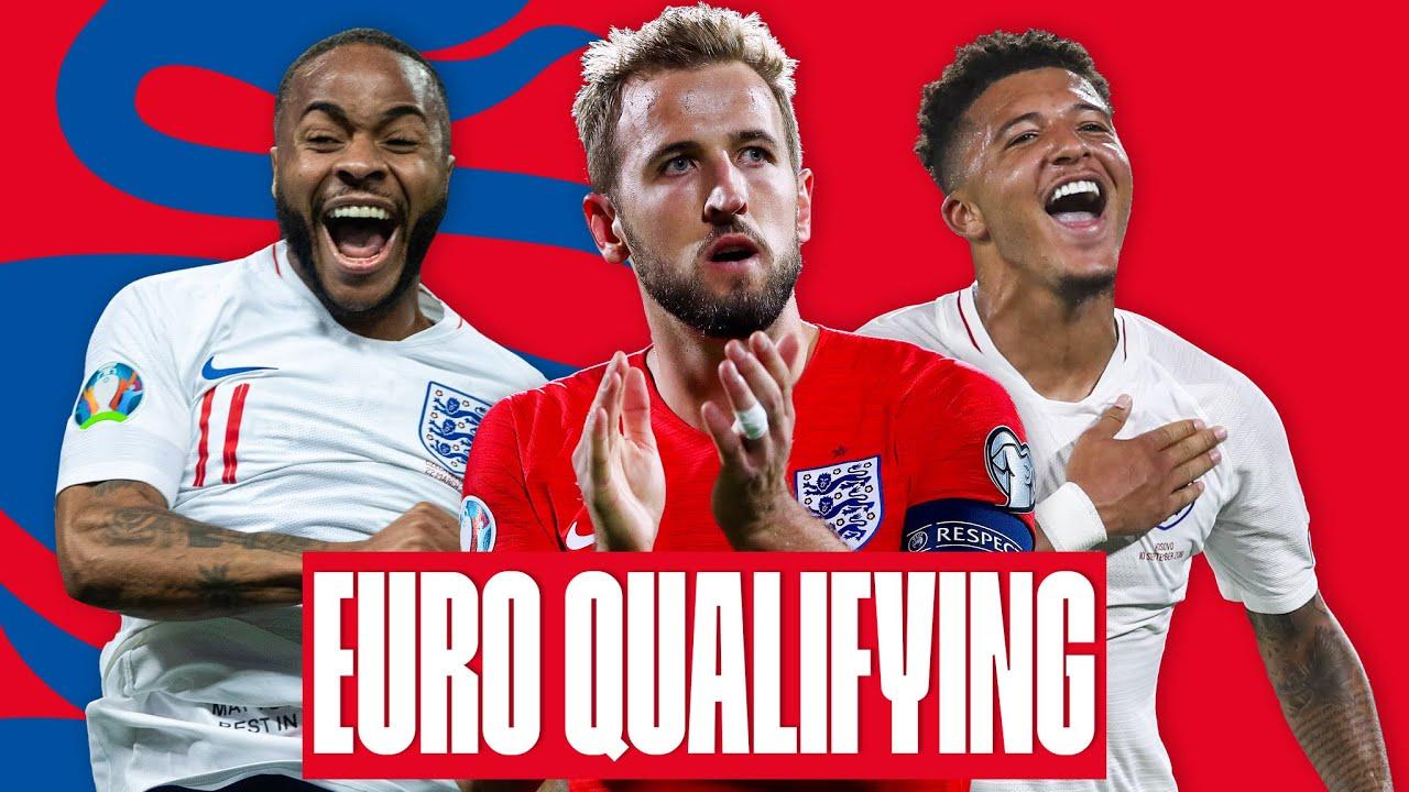 EVERY GOAL ⚽️ UEFA Euro 2020 Qualifiers | Kane, Sterling, Sancho, Rashford | England