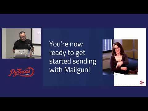 Douglas Mendizábal - Sending email with Mailgun (PyTexas 2017)