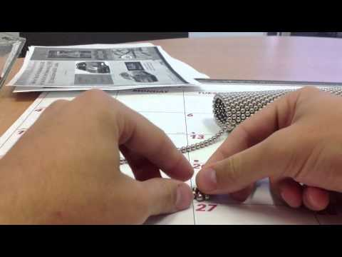 How to make a pyramid with NANODOTS