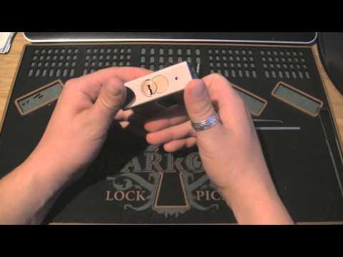Hard head 75mm dimple padlock from Jula Norway
