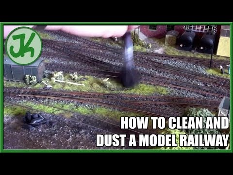 How to Clean and Dust a Model Railway
