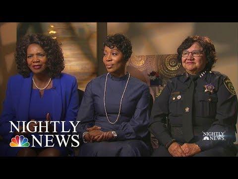 Brass Ceiling: Dallas Has Three Women In Top Law Enforcement Jobs | NBC Nightly News