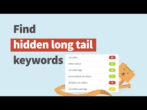 How to find long tail keywords with low SEO difficulty in less than 3 minutes in KWFinder