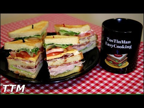 Club Sandwich Toaster Oven Recipe