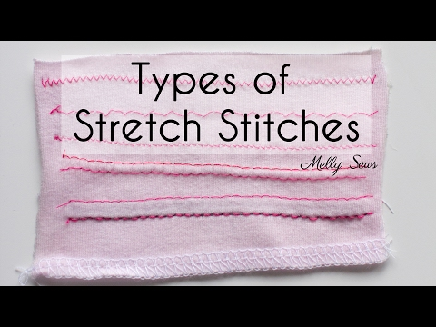 Knit Stitches - How to Sew Knits