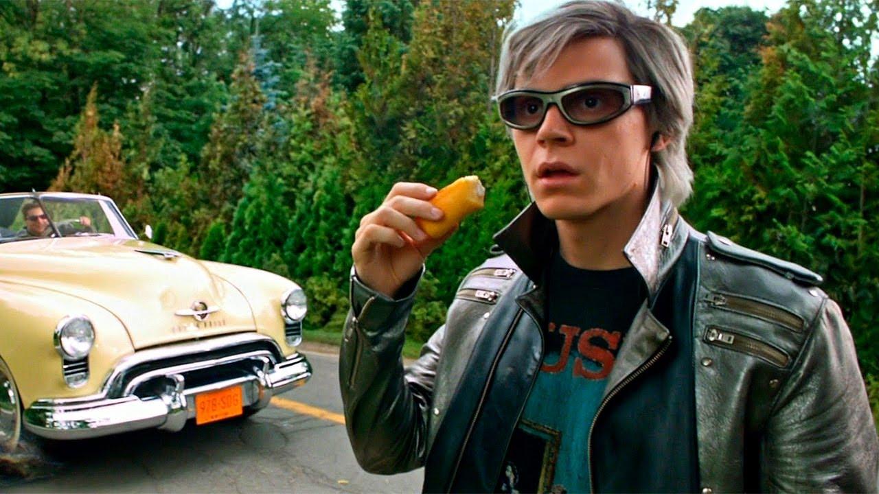 Quicksilver Saves Everyone - Sweet Dreams - X-Men: Apocalypse (2016) Movie Clip HD