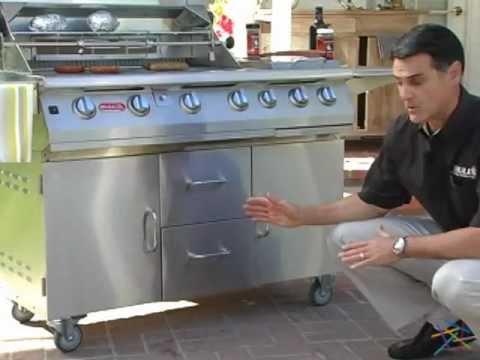 7 Burner Premium Grill Cart