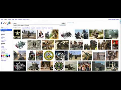 Bing, Google, and Facebook Images