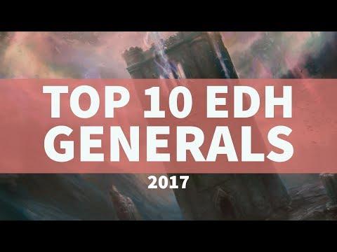 My Top 10 MTG Commanders - 2017 Edition
