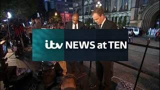 ITV News At 10 Opening Manchester terror attack 23/05/17
