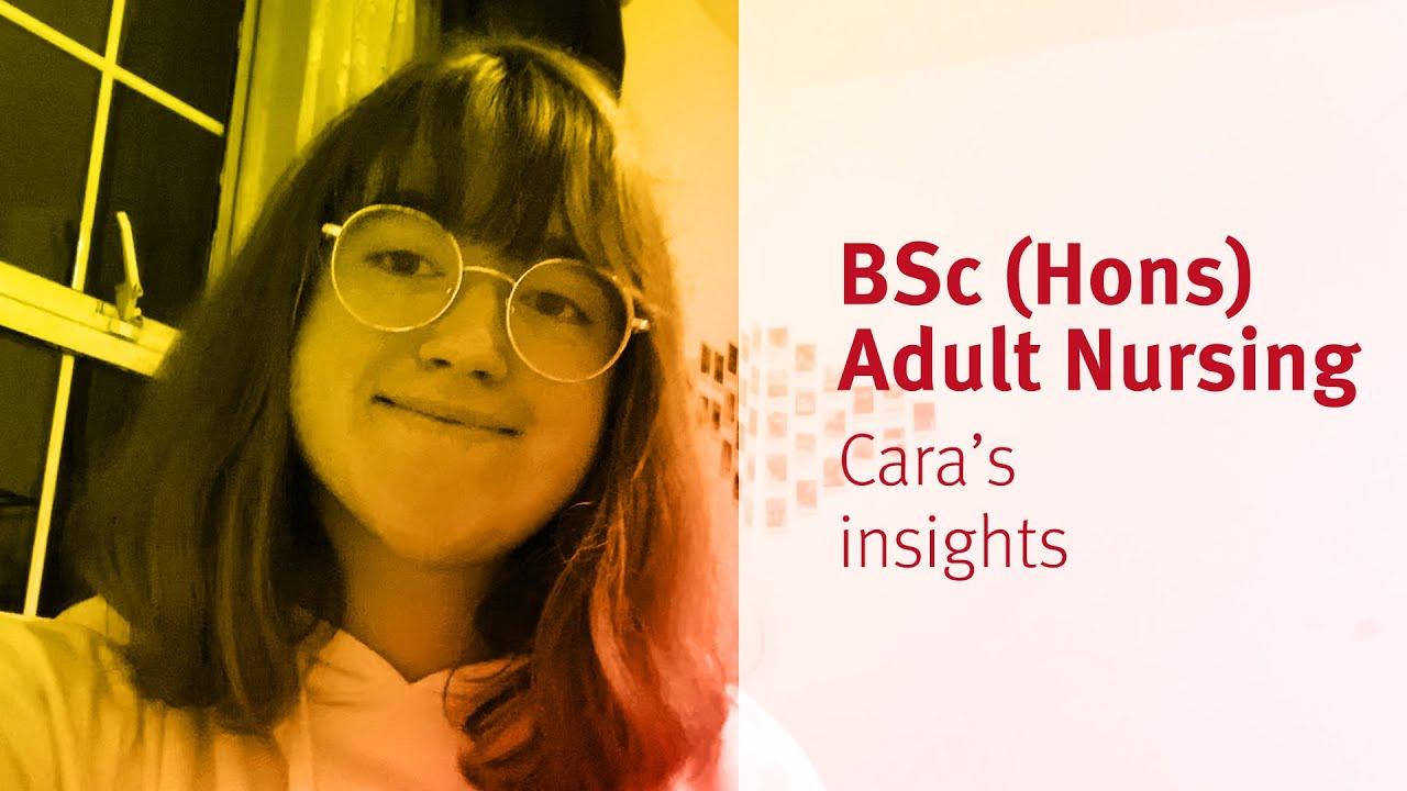City, University of London: BSc (Hons) Adult Nursing student Cara's insights