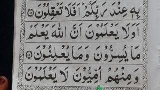 Surah Baqara | 3rd Ruku | Aayat 20 ke baad | Word To Word | Quran