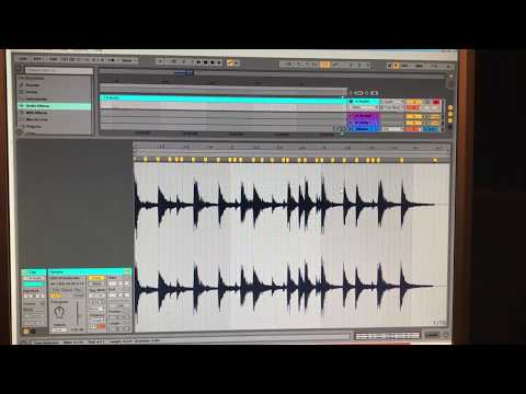 Chopping Breaks in Ableton Live, Jungle / Drum and Bass Programming V1