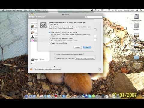 how to delete a user account on a mac