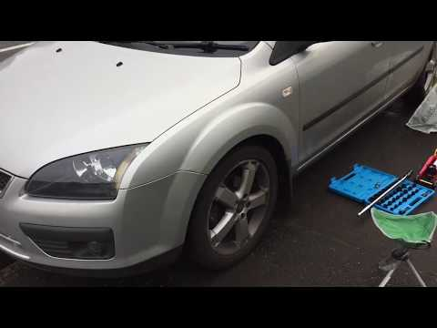 HOW TO MK2 FORD FOCUS BRAKE REPLACEMENT