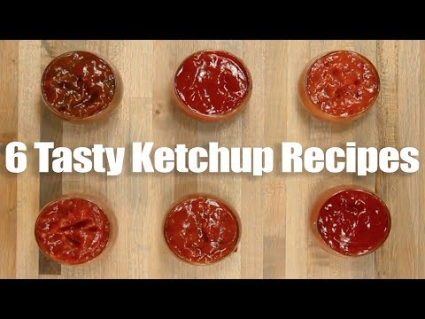 Six Flavored Ketchup Recipes - Tasty Easy Fun Ketchup Flavors