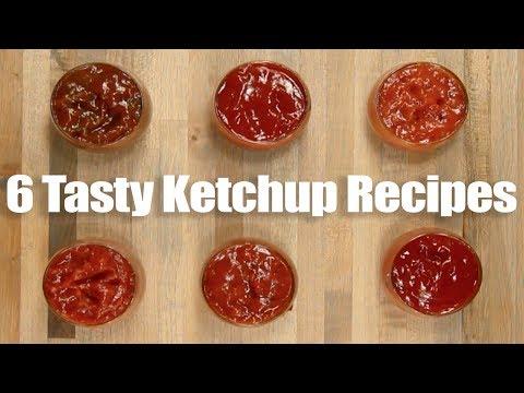 Six Flavored Ketchup Recipes - Tasty Easy Fun Ketchup Flavors