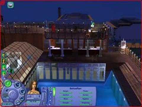 Sims 2: Beautiful house
