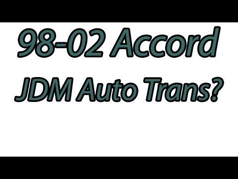 JDM trans Accord BAXA replacement?
