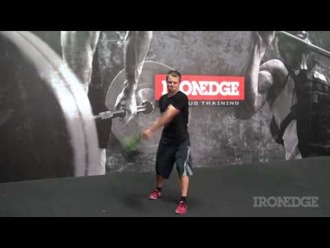 The Iron Edge Bulgarian Bag exercise video