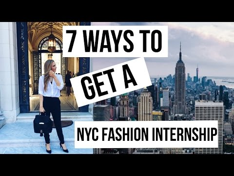 NYC FASHION INTERNSHIP 101 | MY TIPS + EXPERIENCE | HOW TO LAND YOUR DREAM JOB |MAKE YOUR MARK