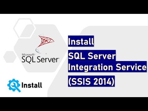 Install SQL Server Integration Service (SSIS 2014)